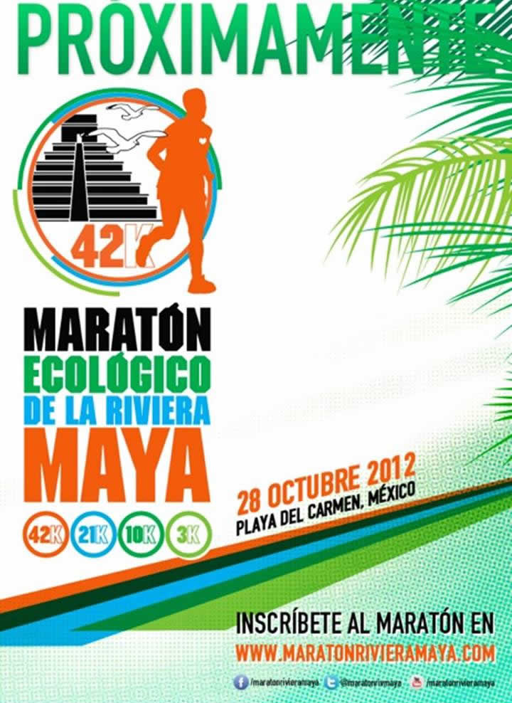 Maraton Ecologico Riviera Maya 2012 @ Playa del Carmen
