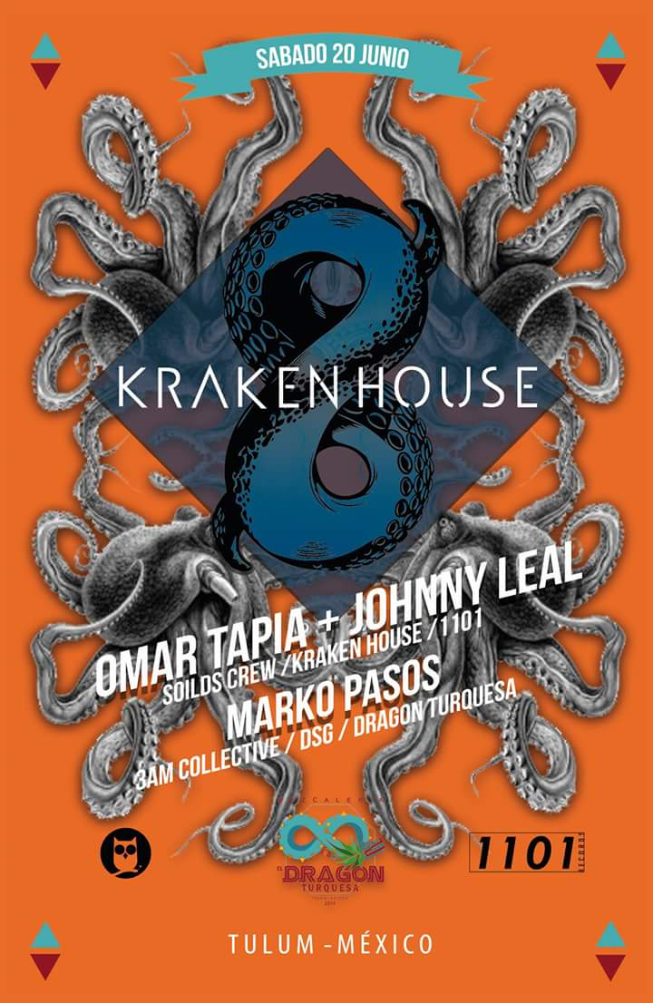 Kraken House @ Dragon Turquesa
