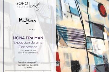 Mona Fraiman - Exposición de Arte Playa del Carmen