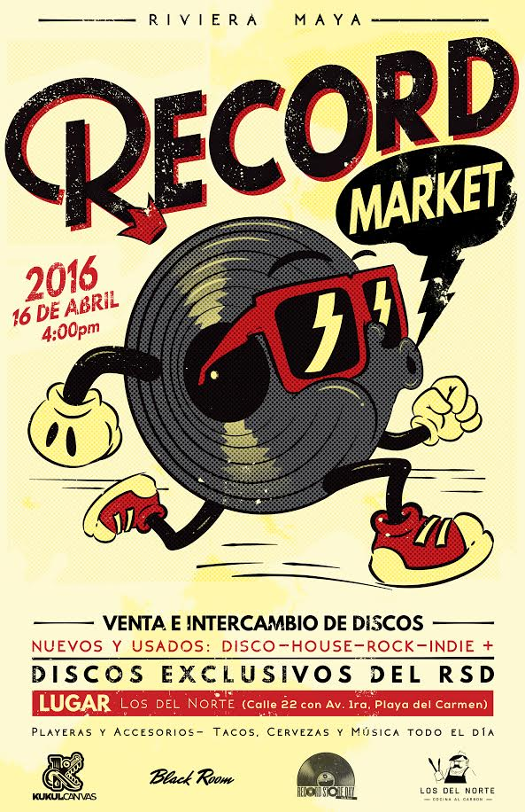 vinyl market playa del carmen