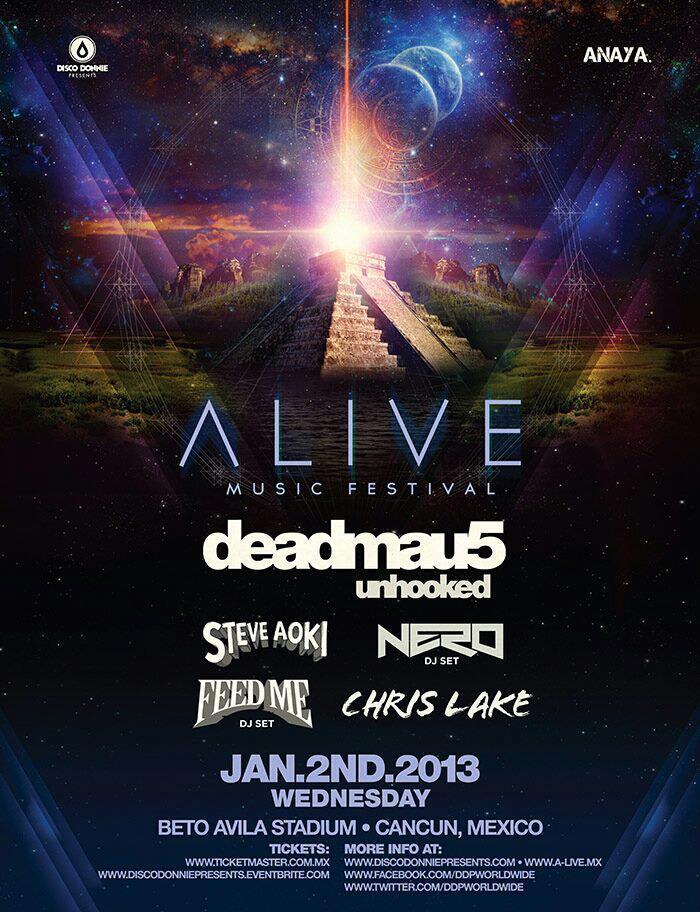 Alive Festival @ Cancún , Quintana Roo