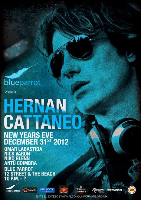 Hernan Cattaneo @ Blue Parrot , Playa del Carmen