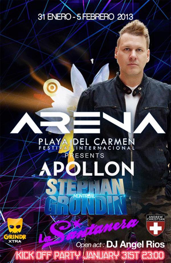 Apollon Club + Stephane Grondin @ La Santanera