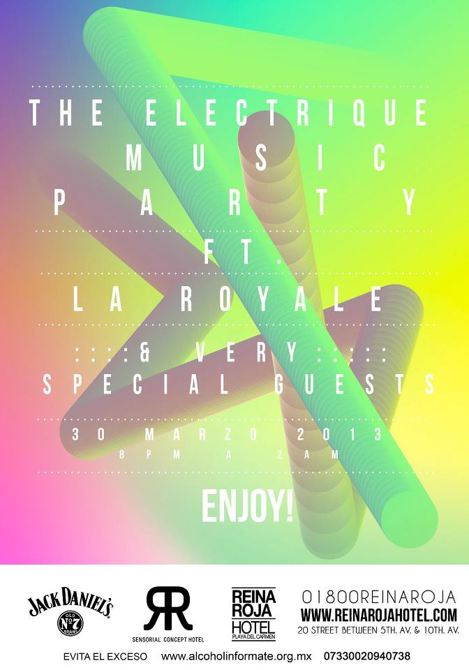 The Electrique Music Party @ Reina Roja