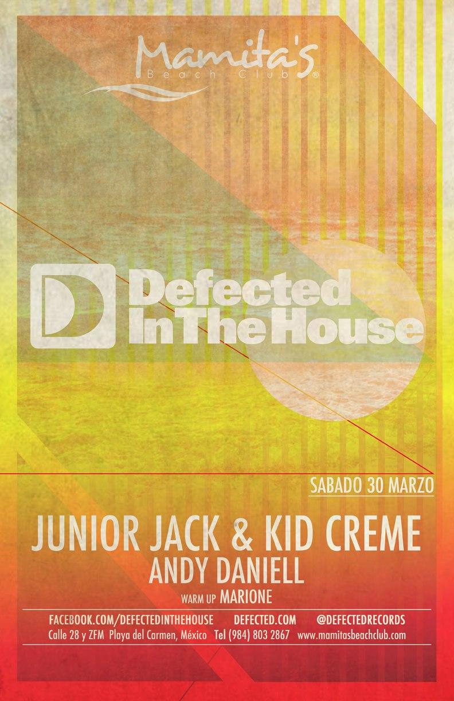 Junior Jack & kid Creme @ Mamitas Beach Club