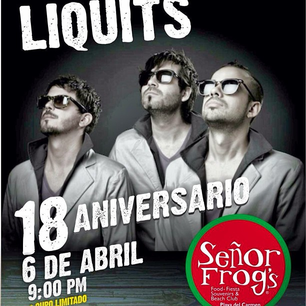 Liquits @ Sr. Frogs