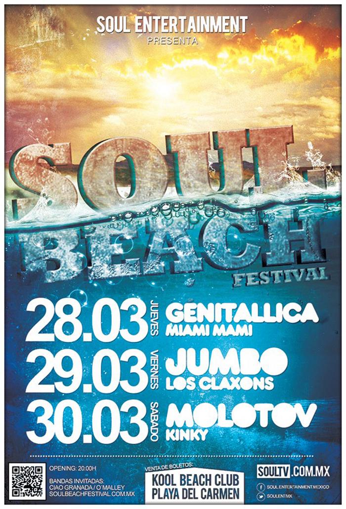 Soul Beach Festival @ Kool Beach - Semana Santa 2013