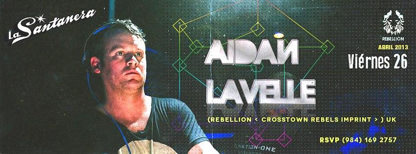 Aidan Lavelle @ La Santanera