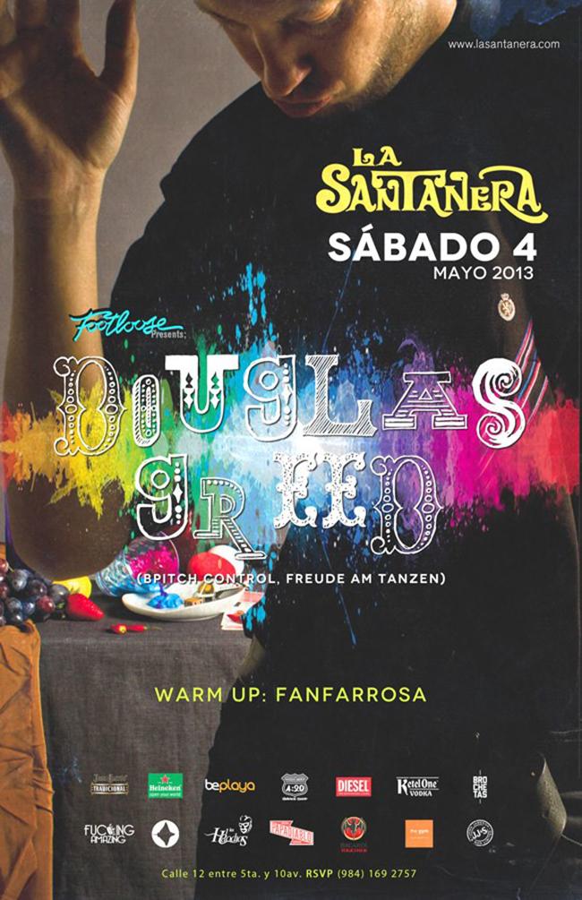 Douglas Greed @ La Santanera