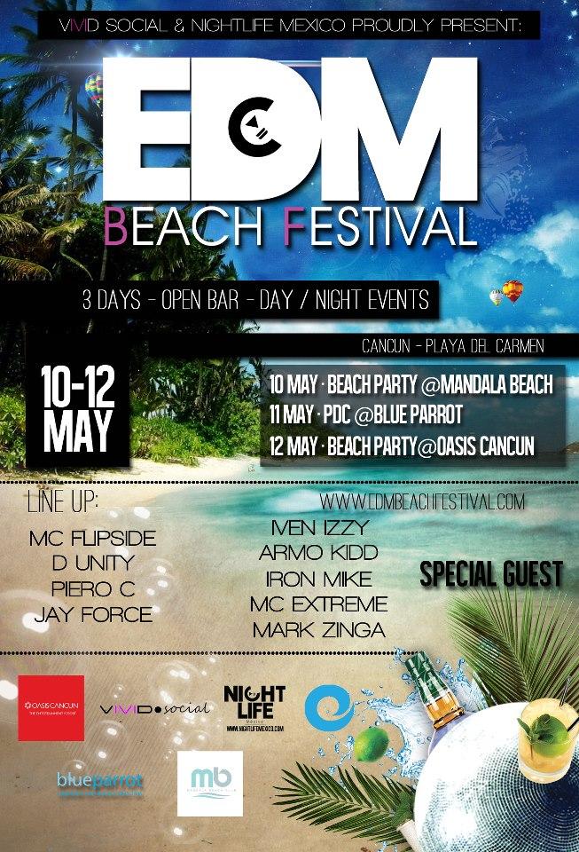 EDM Beach Festival @ Blue Parrot