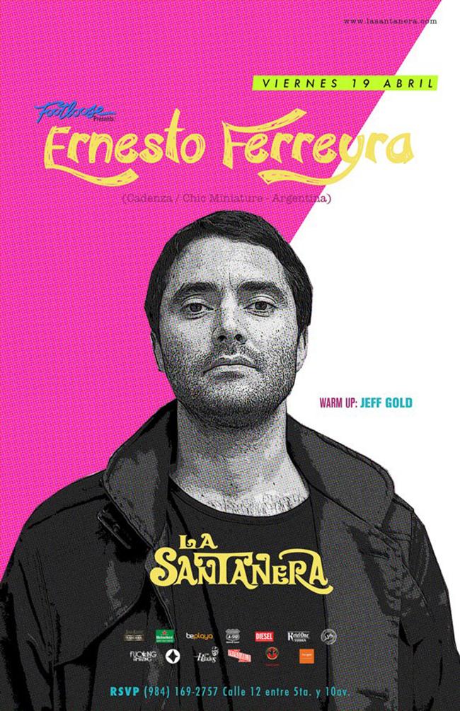 Ernesto Ferreyra @ La Santanera