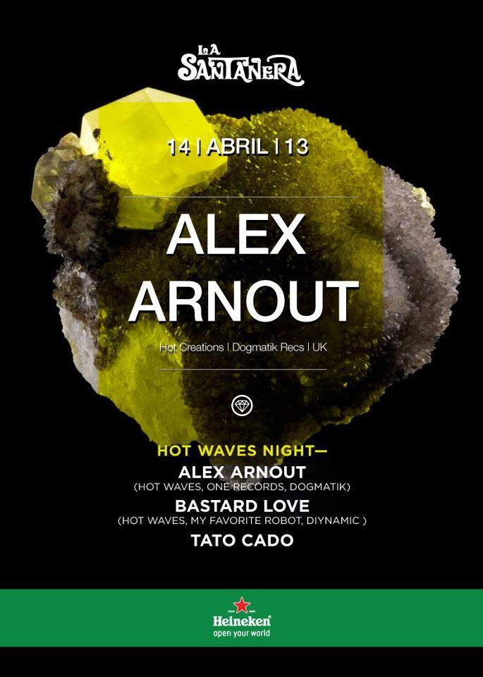 Alex Arnout @ La Santanera
