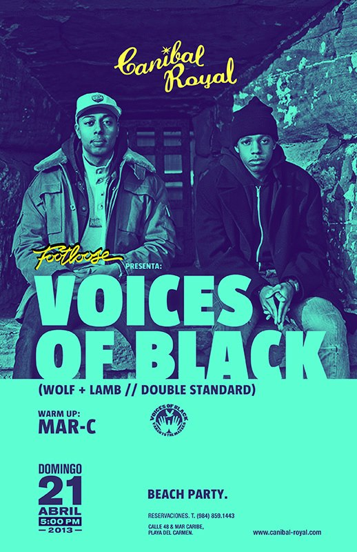 Voices of Black @ Canibal Royal