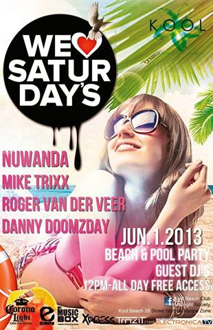 Beach & Pool Party @ Kool Beach