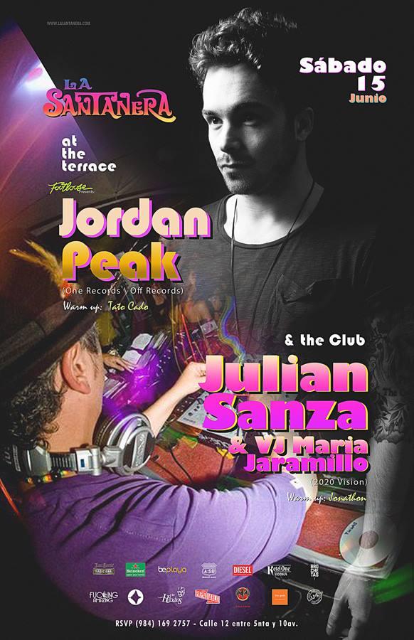 Jordan Peak & Julian Sanza @ La Santanera