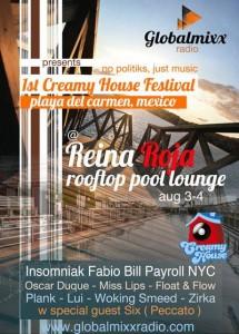 Creamy House Festival @ Reina Roja