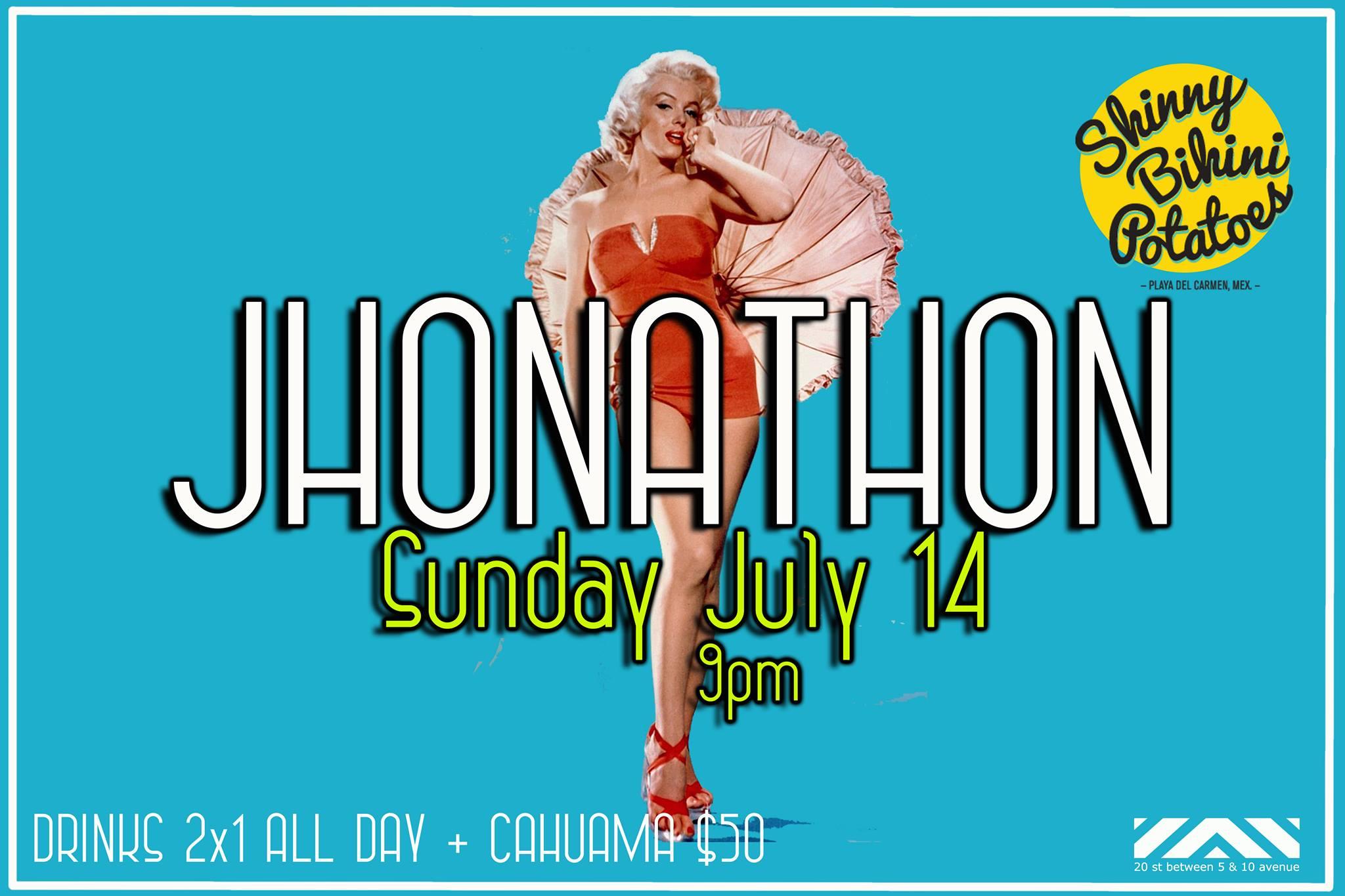 Hoy : Jonathon @ Skinny Bikini Potatoes