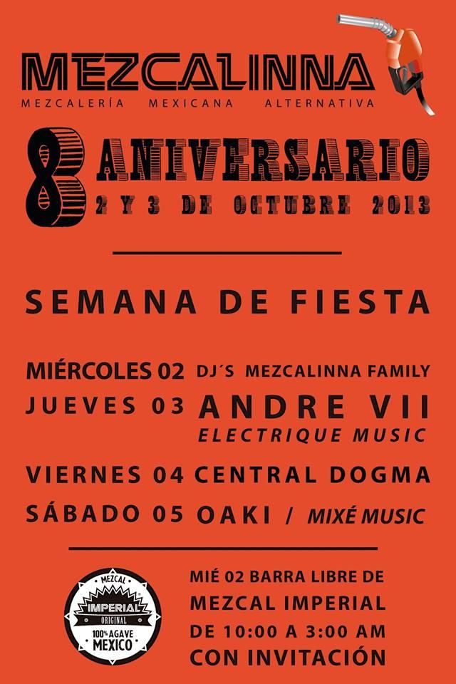 8 Aniversario de La Mezcalinna