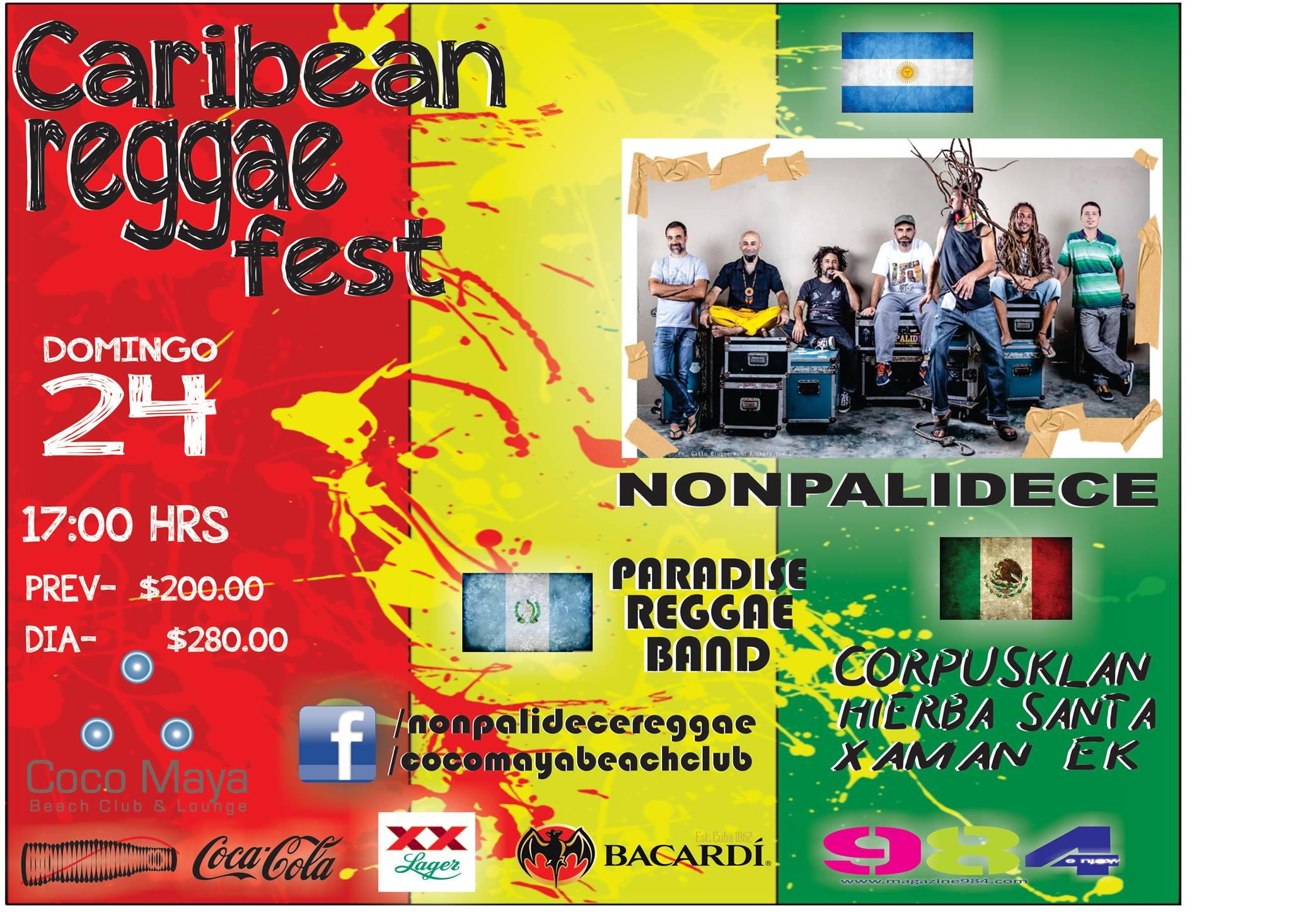Caribbean Reggae Fest 2013 @ Coco Maya