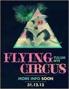 Flying Circus NYE @ Tulum