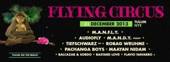 Flyin Circus - Año Nuevo 2014 Tulum