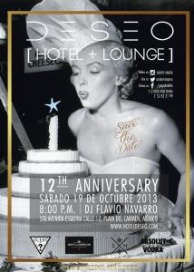 12 Aniversario del Hotel Deseo Playa del Carmen