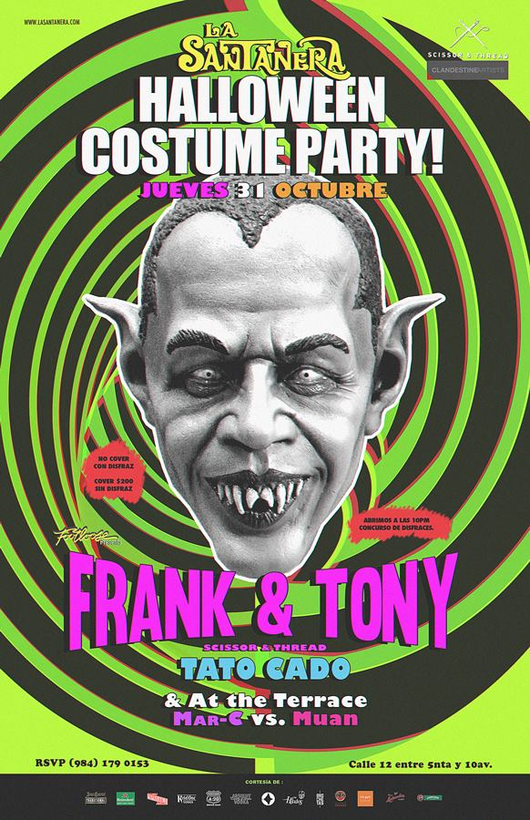 Halloween Costume Party @ La Santanera