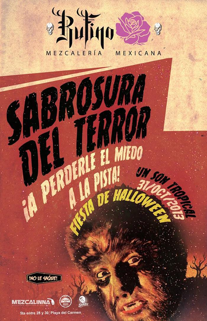 Sabrosura del Terror @ Rufino