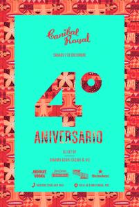 4to Aniversario de Canibal Royal