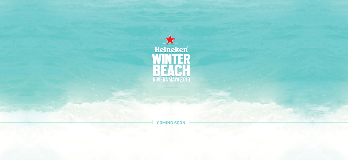 Winter Beach 2013 @ Playa Del Carmen