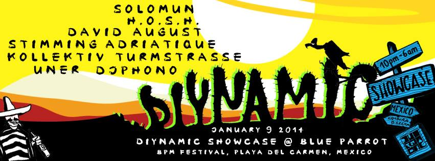 Diynamic Showcase @ Blue Parrot - BPM 2014