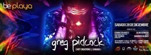 Greg Pidcock @ Be Playa