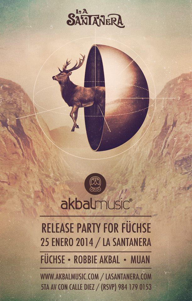Akbal Showcase Release Party @ La Santanera