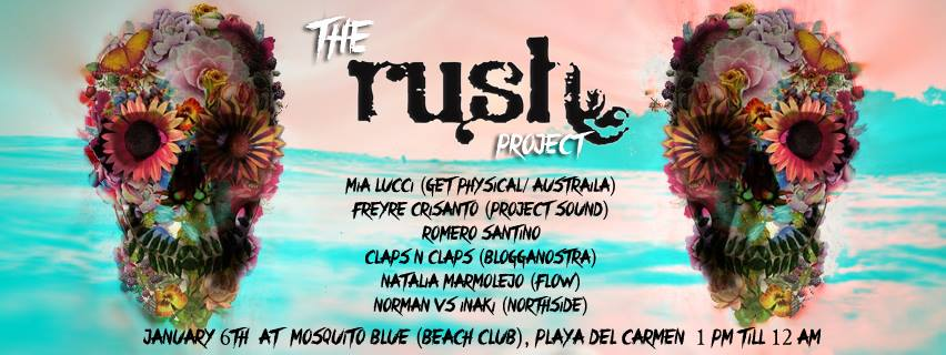 the rush project @ mosquito beach