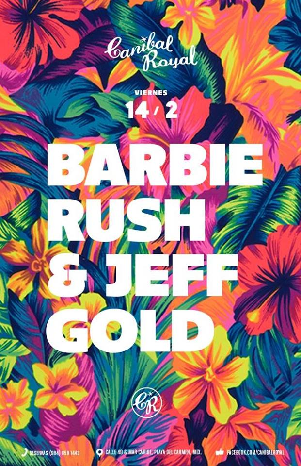 Barbie Rush & Jeff Gold @ Canibal Royal