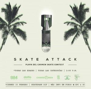 Skate Attack @ Playa del Carmen