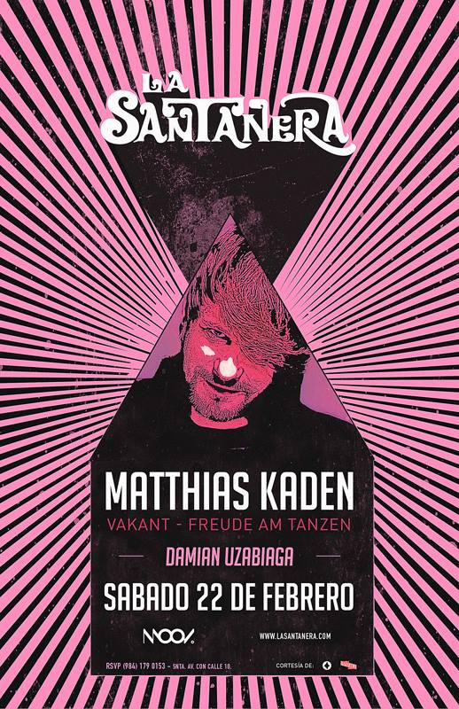 Mathias Kaden @ La Santanera