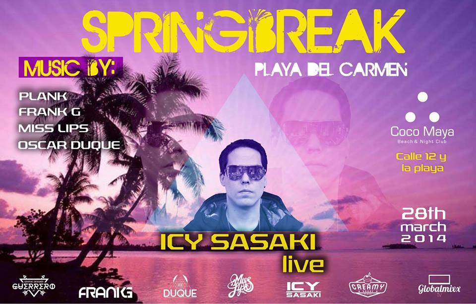 Spring Break @ Coco Maya