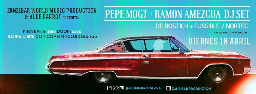 Pepe Mogt & Ramon Amezcua @ Blu Parrot