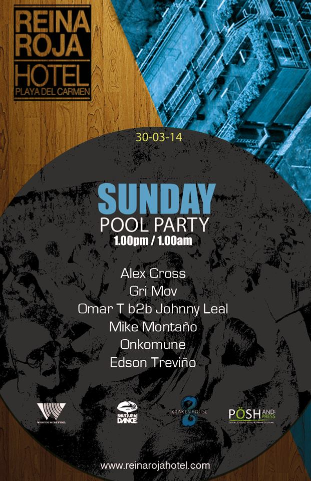 Pool Party @ Reina Roja