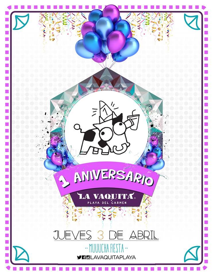 1er Aniversario @ La Vaquita