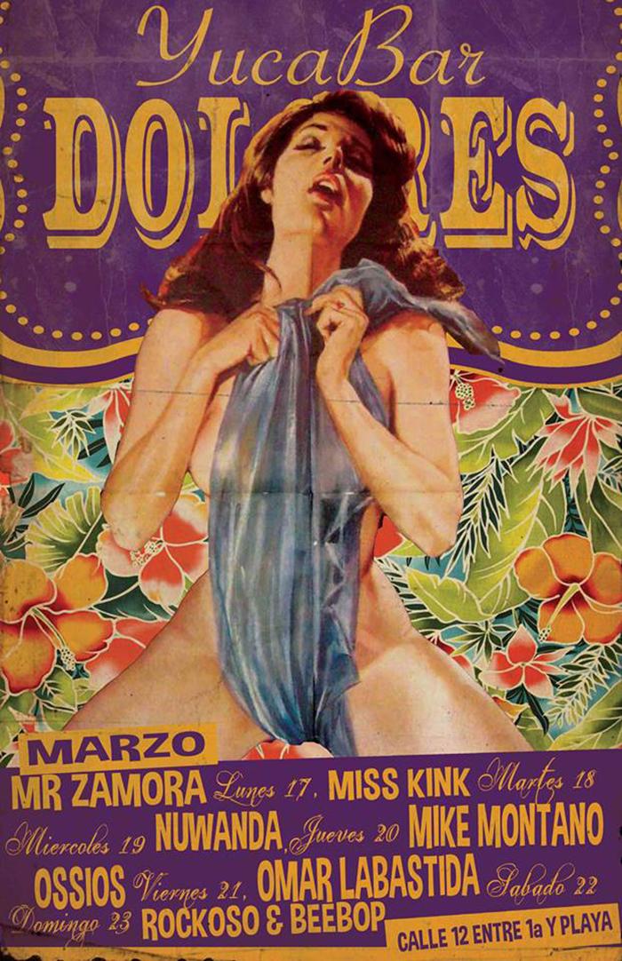 Semana de Eventos - marzo @ Dolores YucaBar