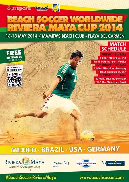 Beach Soccer Wordlwide Cup Riviera Maya 2014