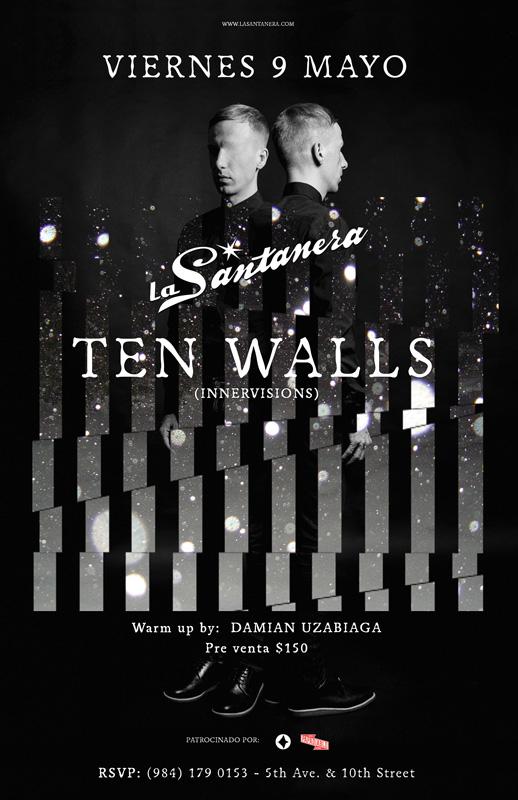 Ten Walls ( Mario Basanov ) @ La Santanera