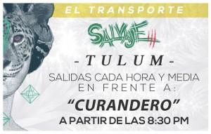 Transporte desde tulum - Salvaje 3 @ Playa del Carmen