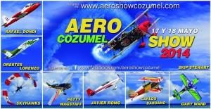 AeroShow Cozumel 2014