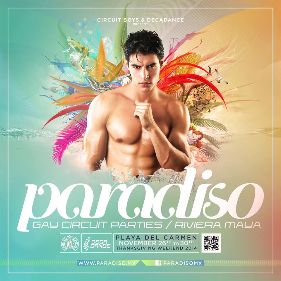 Paradiso Festival 2014 @ Playa del Carmen