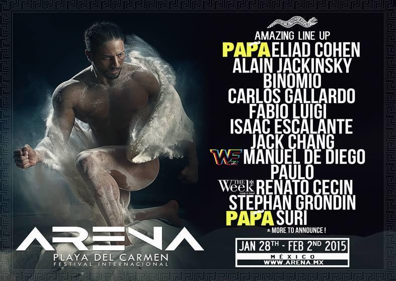 Festival Arena 2015 @ Playa del Carmen