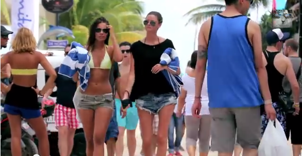 Grand Benders Tv Visita Playa del Carmen