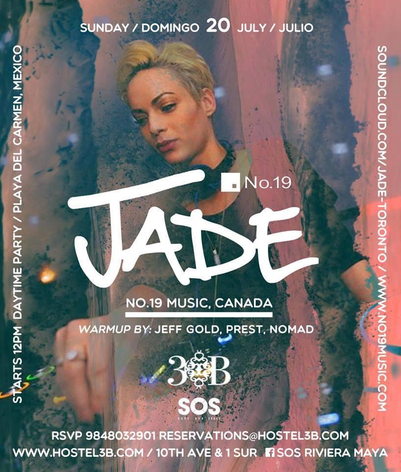 Jade @ SOS Lounge - Hostal 3B